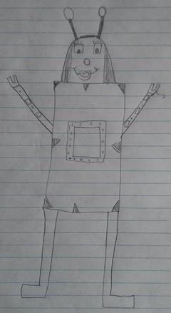 The robot girl Icon